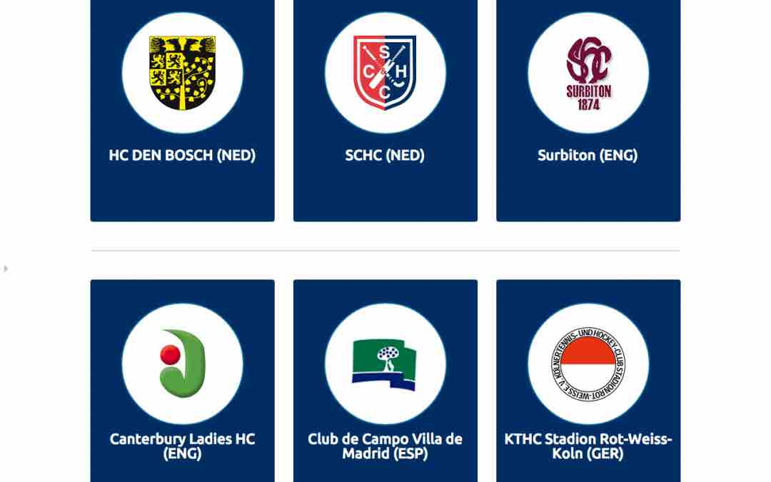 Site voor EHCCC Eurohockey Club Champions Cup, Women 2015