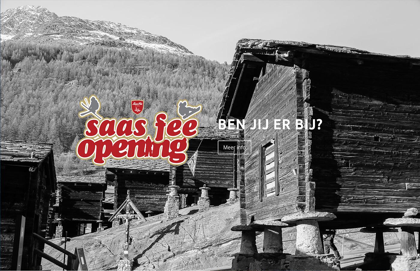 Saas Fee Opening